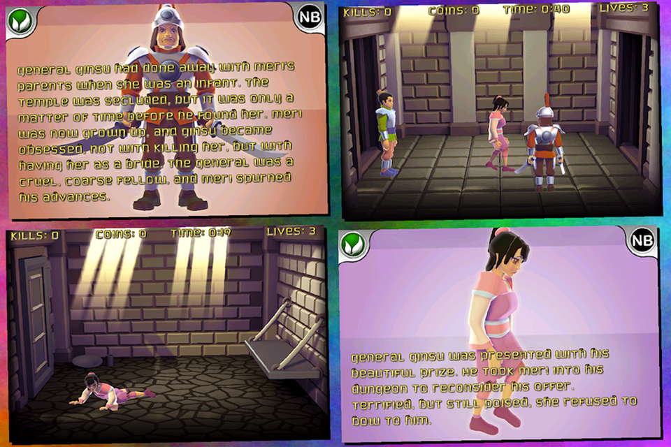 Screenshot Kung Fu Monk – Oolong's Quest
